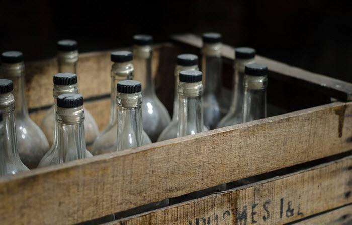 vintage beer bootles